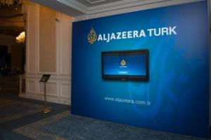 Al Jazeera Turk launch at Ciragan Palace Kempinski Hotel; istanbul; 2014