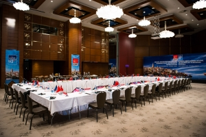 "CHP organizes ""International Workshop in Economics"" at Atakoy Sheraton Hotel; istanbul; 2013"