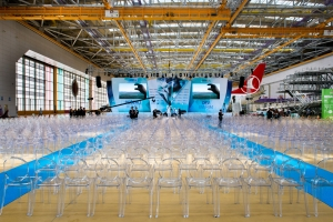 The grand opening event of Turkish Airlines HABOM Building @ Sabiha Gokcen Airport; istanbul; 2014